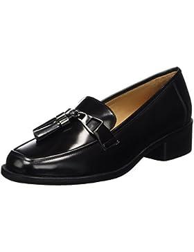 Marc O'Polo Damen Mid Heel Loafer 70714142202111 Slipper