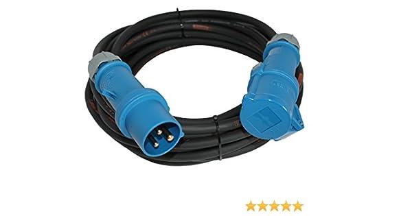 Titanex Gummi Verlängerung Kabel 3x1,5mm² 3G1,5 3m 5m 10m 20m