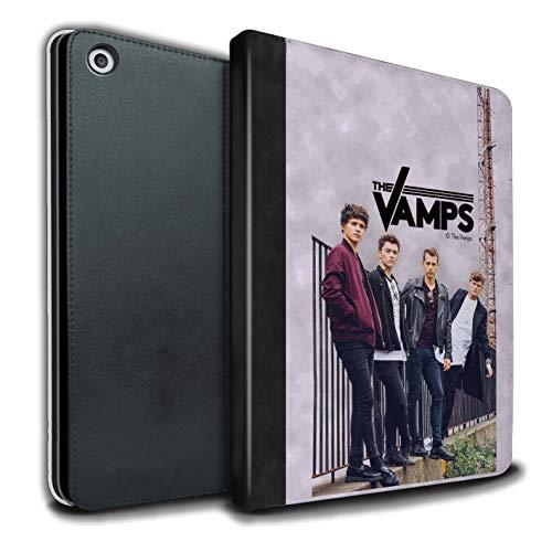 The Vamps PU Pelle Custodia/Cover/Caso Libro per Apple iPad 9.7 2018/6th Gen Tablet/Album Servizio Fotografico Disegno
