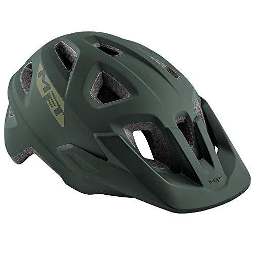 MET Echo Helm Army Green Kopfumfang S/M   52-57cm 2019 Fahrradhelm
