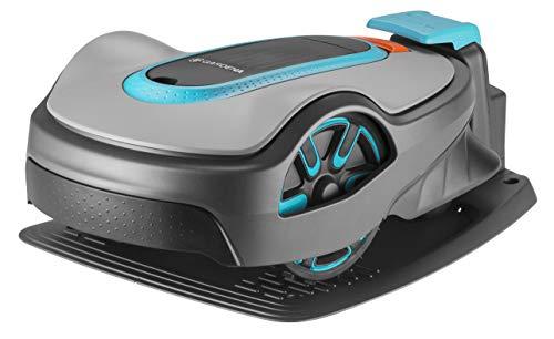 GARDENA - 15101-20 - SILENO life : Robot tondeuse pour surfaces de tonte maximales de 750m², fonction EasyPassage, pentes jusqu'à 30%, silencieux
