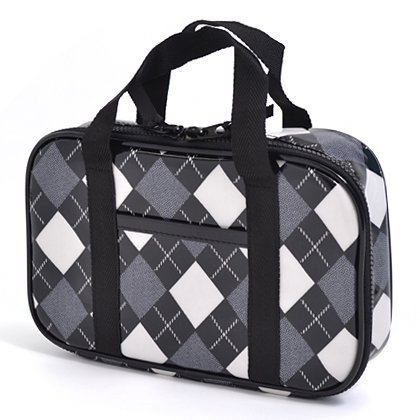 Kids sewing bag rated on style N2303000 made by Nippon black Argyle (bag only) (japan import)