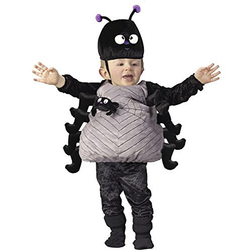 Silly Spider Spinne Baby Costume Infant Kinder Halloween Fasching Karneval Kostüm 80-92 (Halloween-kostüme Blume Infant/toddler)