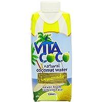 Vita Coco Agua de Coco con Limón - Paquete de 12 x 330 ml - Total: 3960 ml