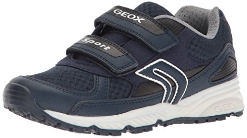 Geox J Bernie C, Zapatillas para Niños, Navy, 28 EU