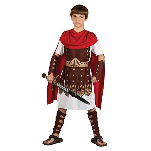 Boys Roman Gladiator Centurion Warrior Halloween Party Fancy Dress Cool (Party Boy Kostüm)