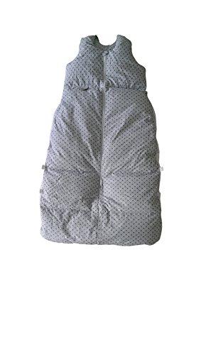 Climarelle Daunenschlafsack, längenverstellbar, Alterskl. ca 12-24 Monate, Sternenschlaf, 110 cm