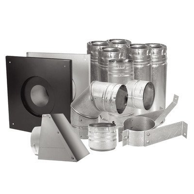 Duravent 4 Stainless Pellet Vent Kit by DuraVent