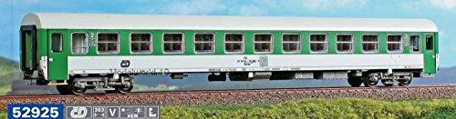 ACME Carrozza CD Tipo Z, livrea verde grigio EP. V/VI 1/87 H0 52925