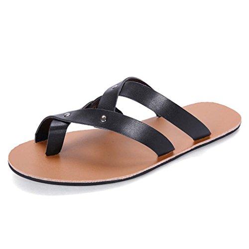 ZXCV Scarpe all'aperto Scarpe da spiaggia calzature traspiranti scarpe da sole in gomma da sole estate Nero
