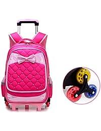 237a3bda1 Bolso de la carretilla de los niños, mochila rodante de la carretilla del  patrón del