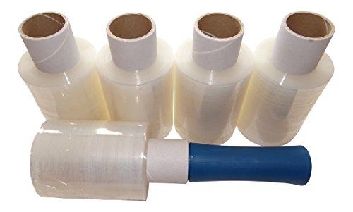 5rollos de lámina elástica pequeña y un dispensador de mano MultiBros