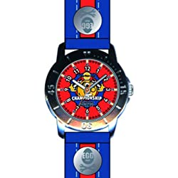 EGG - 4042403 DDP Children's Watch Analogue Quartz Plastic Strap Red Dial