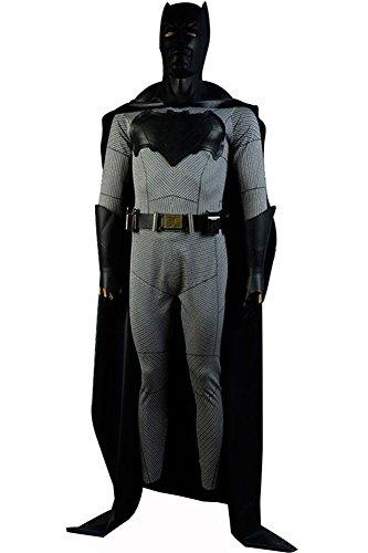 Batman Suit Batman v Superman Dawn of Justice Halloween Bruce Wayne Cosplay Kostüm Medium