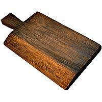 formaw Brentwood 58443 Madera Rústica Cortar/Olivo Dark Board, Mano gemachter, Oscuro marrón