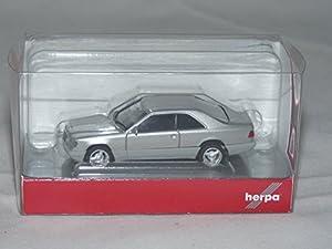Herpa 38782Vehículo Mercedes Benz E 320Coupé en Miniatura, metallicsilber