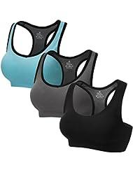 CARETOO Sport BHs für Frauen Racerback Medium High Impact Sport Fitness Yoga