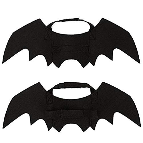ngs Costume for Cat Dog, Cat Kitty Bat Wings Costume Dress up Cat Kitty for Halloween ()