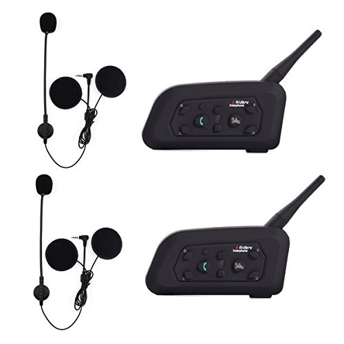 EJEAS V6 Pro BT Interphone 1200M Bluetooth Motocicleta Motocicleta Casco Intercom Auriculares...
