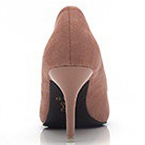 Low Black Azbro Cut Toe Pointed on Slip Stiletto Women's Pumps fggxnA