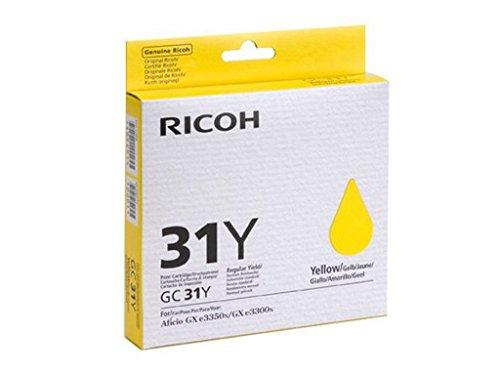 Ricoh GC-31Y Cartouche d'encre d'origine Jaune