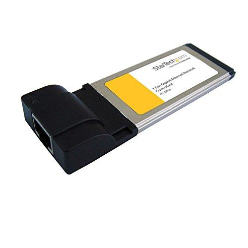 StarTech.com 34mm Gigabit Ethernet Laptop ExpressCard - RJ45 Netzwerkkarte für Notebook Notebook Expresscard
