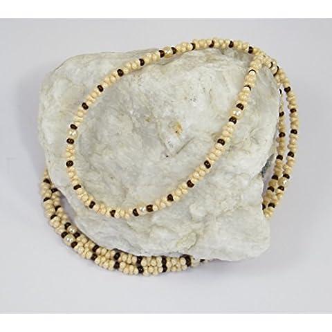 Occhiali Band/occhiali collana in perle di vetro