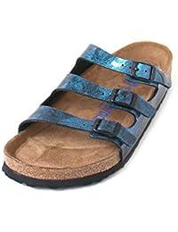 Amazon.it  Birkenstock - Blu   Sandali   Scarpe da donna  Scarpe e borse 469fbfc9997