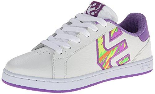 Etnies FADER LS W'S Damen Skateboardschuhe White/Purple