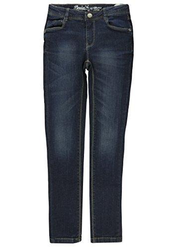 Junior Brands Group Lemmi Mädchen Jeanshose Jeggings Jeans Girls Big Blau (Dark Denim|Blue 0012), (Herstellergröße: 128)