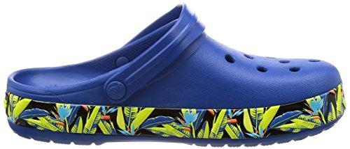 Crocs - Unisex-Adult Crocband Tropical Iv Clog Shoes Navy