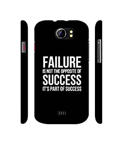 Casotec Motivational Quote Design 3D Printed Hard Back Case Cover for Micromax Canvas 2 A110