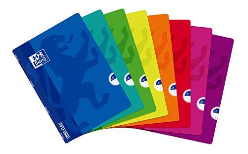 Oxford Openflex 400026393 - Pack de 10 libretas grapadas de tapa blanda, A4