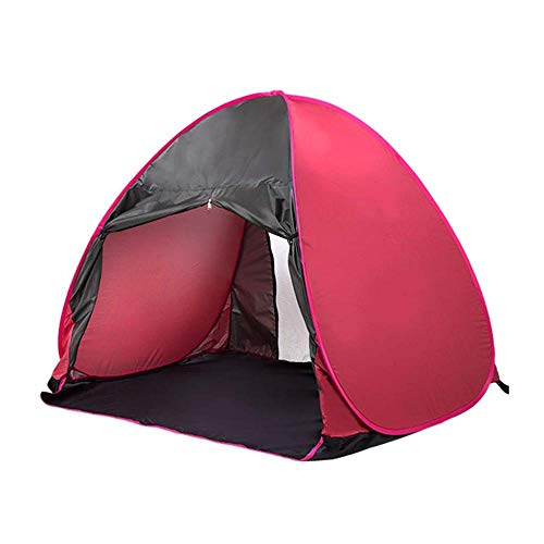 DLLzq Automatisches Sofortiges Knallen Oben Zelt Einzelnes Strand-wasserdichtes Leichtes Hauben-Zelt Kampierendes Einfaches Paar-Zelt Im Freien