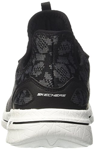 Skechers Damen Burst 2.0-Game Changing Ausbilder Schwarz (Black/Grey)