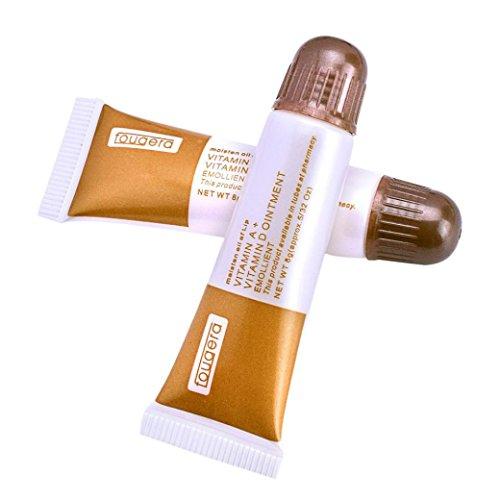 JIANGFU Zahnpastatätowierungs-Reparaturcreme, 10 Stück Vitamin AD Anti Narbe Tattoo Aftercare Creme Augenbrauen und Lippen Reparatur Gel (Gel Gestickt)