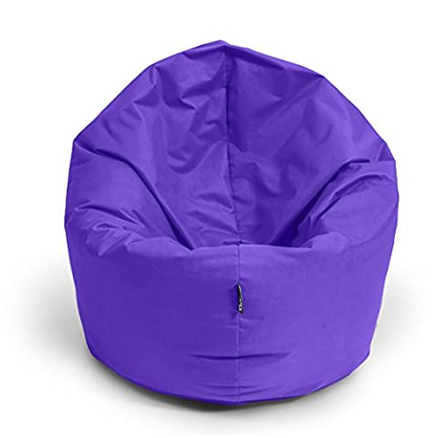 Sitzsack BuBiBag 2-in-1 Funktionen mit Füllung Sitzkissen Bodenkissen Kissen Sessel