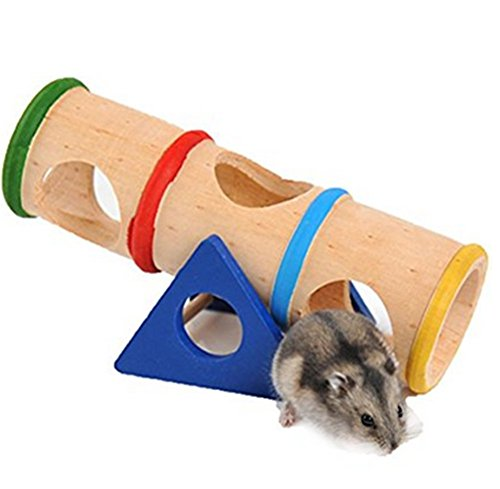 Toruiwa Balançoire Tunnel Jouet pour Hamster Souris en...