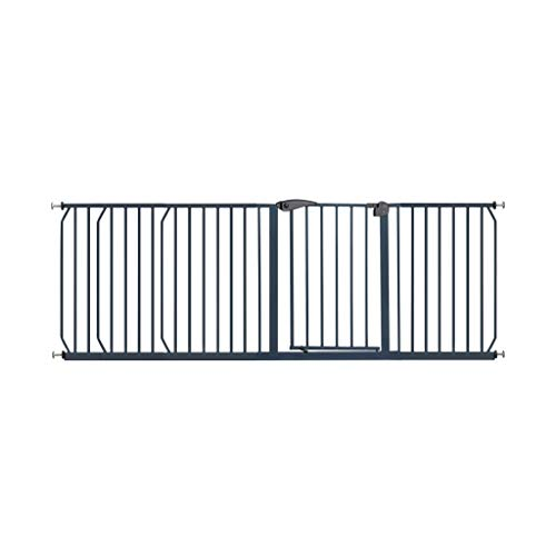 Safety Gate HUYP For Children For Dogs Extensions Stairs Fence Pet Dog White (Size : 215-224cm)  HUYP