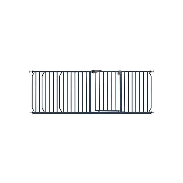 Safety Gate HUYP For Children For Dogs Extensions Stairs Fence Pet Dog White (Size : 215-224cm) Safety gate  1