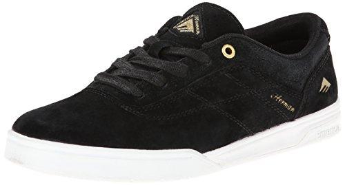 Emerica ,  Herren Skateboardschuhe Schwarz (Noir (Black/White/Gold))