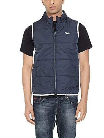 Numero Uno Men Nylon White Jacket
