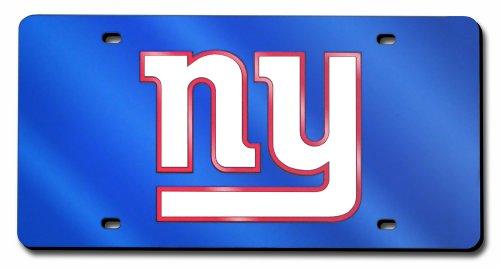 NFL Lasergeschnittene Auto Tag, unisex, New York Giants