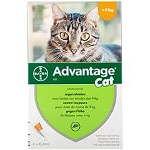 Advantage 40 para gatos < 4 kg ...