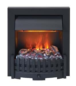 EWT 202550 Feu de cheminée décoratif Optimyst Danville Noir