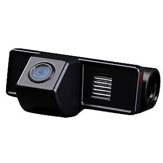 Kalakass Auto Safety Rückfahrkamera European Nummernschild mit 170°HD Farbe CCD Kamera Nachtsicht Wasserdicht IP67 für Vito RV-MV/Sprinter Van 2004-2012/Viano 2004-2012