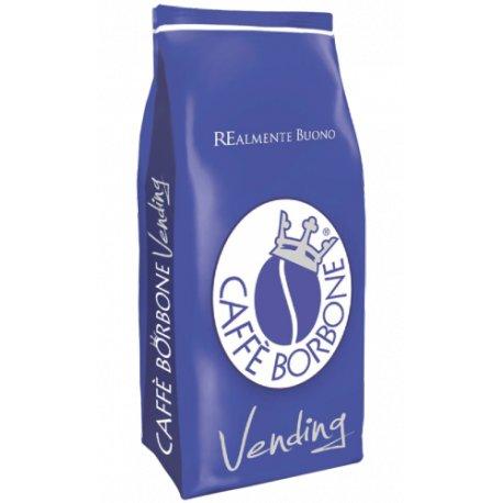 2kg caffe' in grani borbone linea vending miscela blu - (2 buste da 1kg)