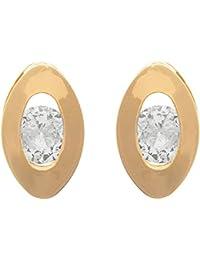 JFL - Fusion Ethnic One Gram Gold Plated Designer Earring For Women & Girls.