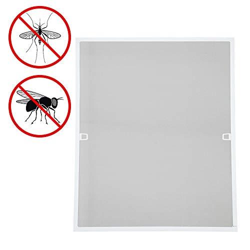 Anthrazit Fliegen Netz 2er Pack Insektenschutz zuschneidbar 1m:1m M/ückenschutz ohne Bohren tesa Insect Stop Standard Fliegengitter f/ür Fenster Durchsichtig