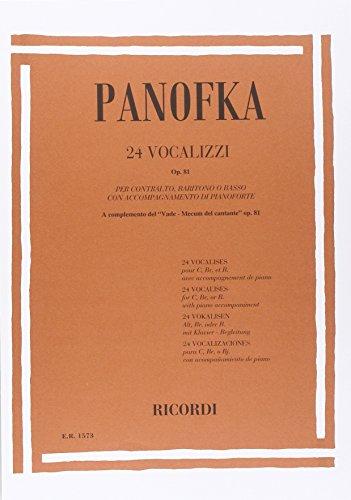 24 Vocalizzi Op. 81